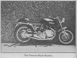 Hunter S Thompson Cover Letter On The Vincent Black Shadow